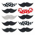 20 Servietten Les Moustaches PPD 33 x 33