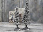 Weihnachtsbaum Metall antik mokka creme, Chic Antique