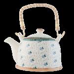 Teekanne Keramik mit Teesieb, Clayre & Eef
