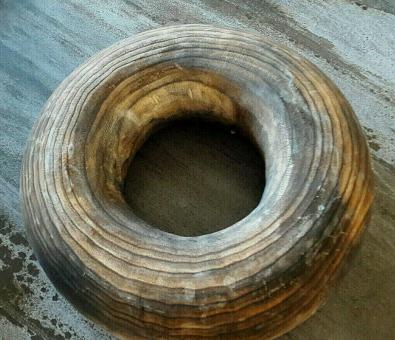 Kranz Blair groß 40 cm Holz schwarz braun grau  Vosteen