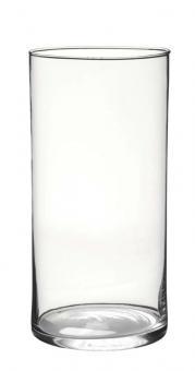 Vase Windlicht Zylinder 15 x 30 cm Glas edel schlicht