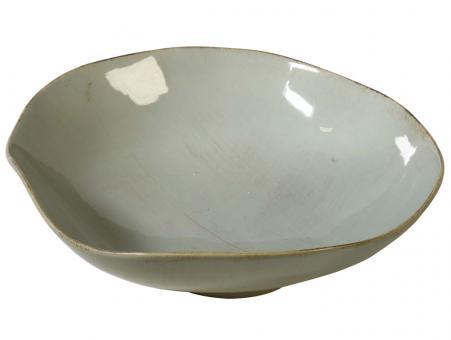 Salat Schüssel türkis Organica, italienische Keramik, Handarbeit, Virginia Casa