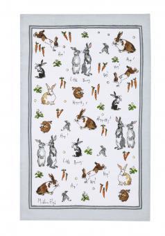 Geschirrtuch Hippety Hoppity Bunnys, Ulster Weavers