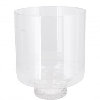Vase Windlicht Zylinder Lirea mit Fuß 19 x 25 cm Glas edel schlicht Vosteen