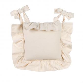 Stuhlkissen Kissen Bezug natur, Blanc Mariclo Toskana