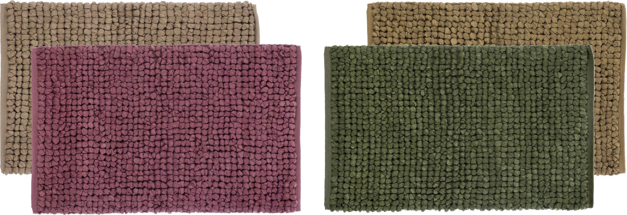 Gabi Schott Living Badteppich Badlaufer Vorleger Teppich 4 Farben